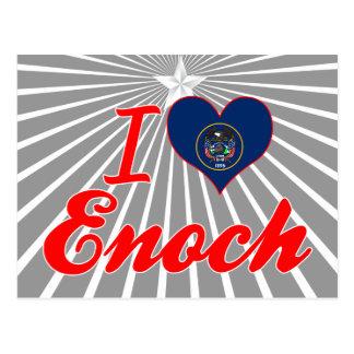 I Love Enoch Utah Postcards