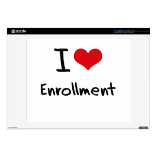 """I love Enrollment Decals For 14"""" Laptops"""