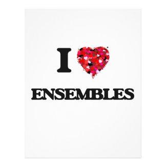 """I love ENSEMBLES 8.5"""" X 11"""" Flyer"""