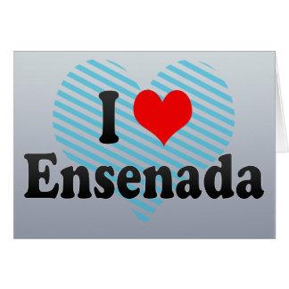 I Love Ensenada, Mexico Card