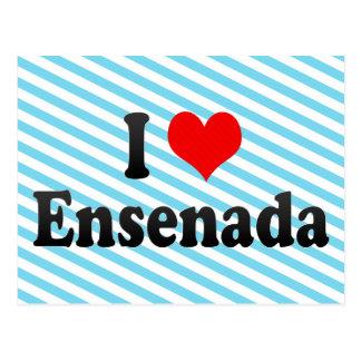 I Love Ensenada, Mexico Postcard