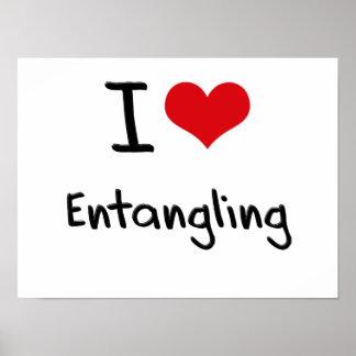 I love Entangling Print