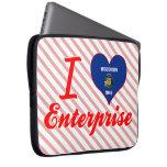 I Love Enterprise, Wisconsin Laptop Computer Sleeve