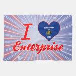I Love Enterprise, Wisconsin Towels