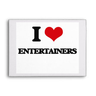 I love Entertainers Envelope