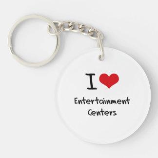 I love Entertainment Centers Acrylic Keychain