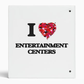 I love ENTERTAINMENT CENTERS Vinyl Binders