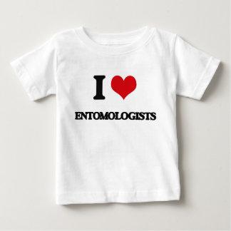 I love Entomologists Tee Shirt