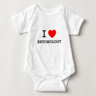 I love Entomology Baby Bodysuit