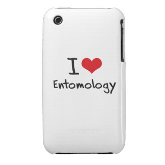 I love Entomology iPhone 3 Case-Mate Cases