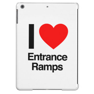 i love entrance ramps iPad air covers
