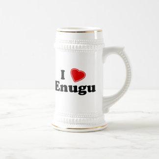 I Love Enugu Beer Stein