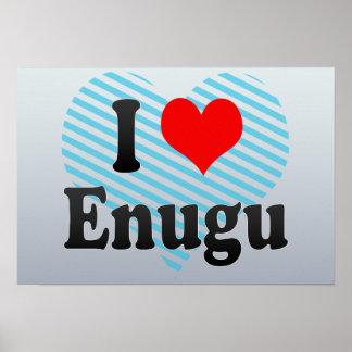 I Love Enugu, Nigeria Poster