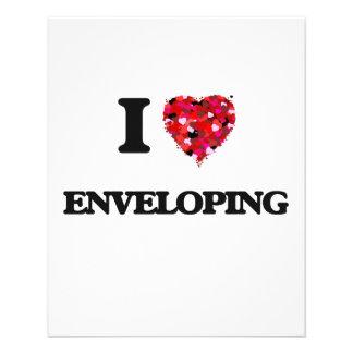 "I love ENVELOPING 4.5"" X 5.6"" Flyer"