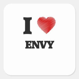 I love ENVY Square Sticker