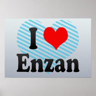 I Love Enzan, Japan Print