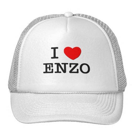 I Love Enzo Hats