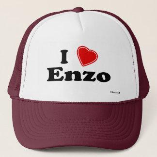 I Love Enzo Trucker Hat