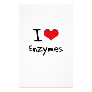I love Enzymes Customized Stationery