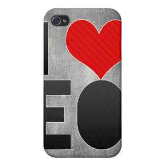 I Love EO Case For iPhone 4