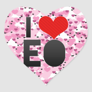 I Love EO Sticker