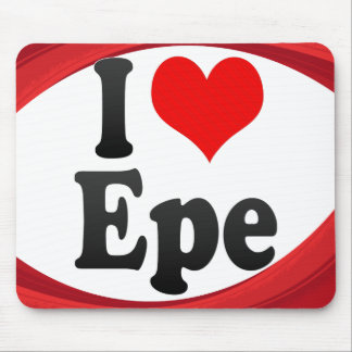 I Love Epe, Netherlands Mouse Pads