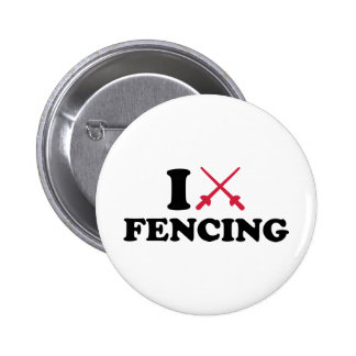 I love epee fencing pin