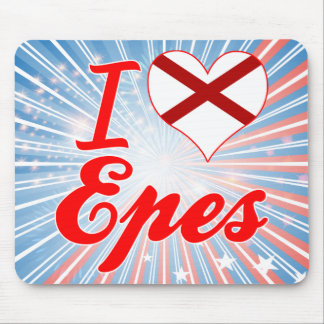 I Love Epes, Alabama Mousepads