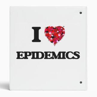 I love EPIDEMICS 3 Ring Binder