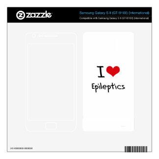 I love Epileptics Samsung Galaxy S II Skin