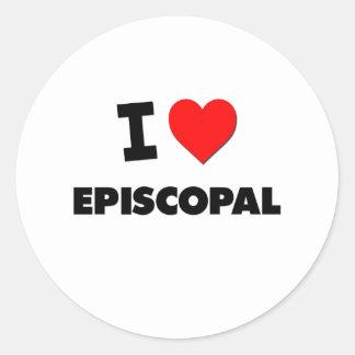 I love Episcopal Sticker