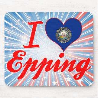 I Love Epping, New Hampshire Mousepad