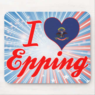 I Love Epping, North Dakota Mousepad