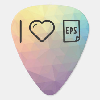 I Love Eps Papers Guitar Pick