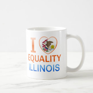 I Love Equality, IL Coffee Mug