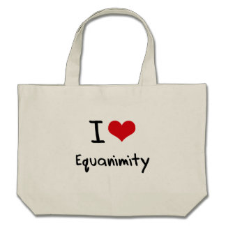 I love Equanimity Tote Bag