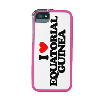 I LOVE EQUATORIAL GUINEA CASE FOR iPhone 5/5S