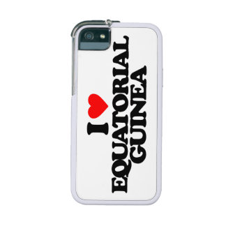 I LOVE EQUATORIAL GUINEA COVER FOR iPhone 5/5S