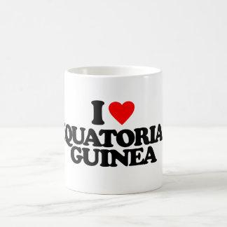 I LOVE EQUATORIAL GUINEA CLASSIC WHITE COFFEE MUG