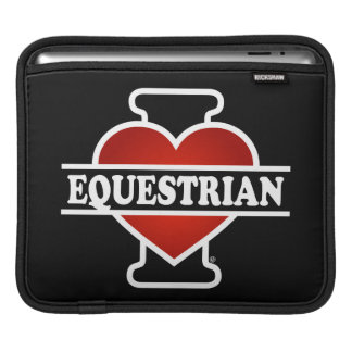 I Love Equestrian Sleeve For iPads