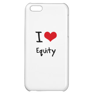 I love Equity Case For iPhone 5C