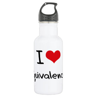 I love Equivalence 18oz Water Bottle