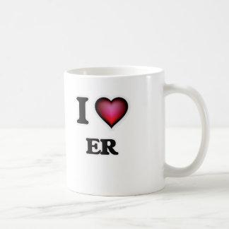 I love ER Coffee Mug