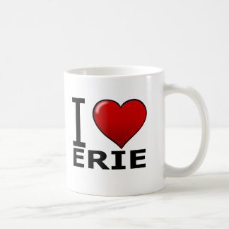 I LOVE ERIE,PA - PENNSYLVANIA COFFEE MUG