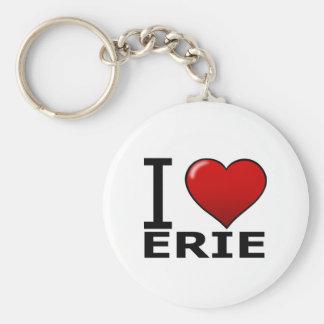 I LOVE ERIE,PA - PENNSYLVANIA KEY CHAIN