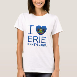 I Love Erie, PA T-Shirt