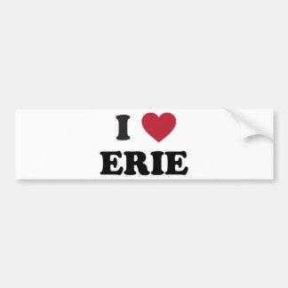 I love Erie Pennsylvania Bumper Sticker