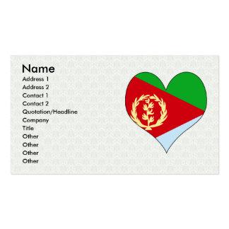 I Love Eritrea Business Card
