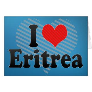 I Love Eritrea Cards