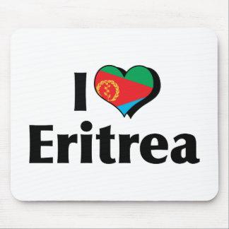 I Love Eritrea Flag Mouse Pad